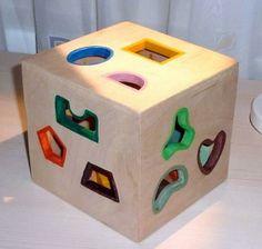 Your toddler will love this adorable #diy #puzzle! http://www.1-2-do.com/de/projekt/Steckspiel-fuer-kleine-Leute/bauanleitung-zum-selber-bauen/9765/