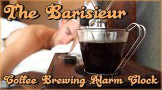 目覚めの一杯を自動で作る!目覚まし時計型コーヒーメーカー : パラリウム