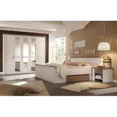 Ložnicový set v dekoru dub sonoma tmavý - Nakup-nabytek. Country Modern Home, Country Style Homes, Lancaster, Wardrobe Boxes, Parasols, Clothes Rail, Large Drawers, White Bedroom, How To Make Bed