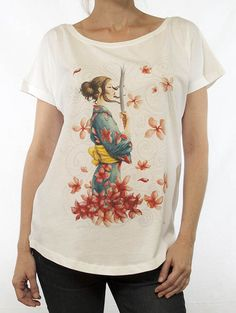 Samurai Blanco 91 Samurai, Madrid, V Neck, T Shirts For Women, Ideas, Fashion, White People, Clothing, Moda