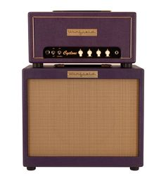 Winfield Cyclone Amplifier Head and 1X12 Cabinet Purple | Rainbow Guitars