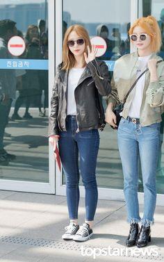 Hani and Junghwa
