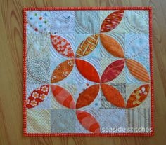 Seaside Stitches: Disappearing Orange Peel