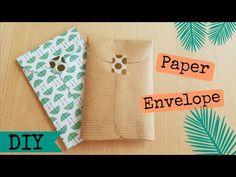 Paper Envelope Tutorial - Penpal idea and packaging