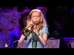 The Last Post (il silencio) Melissa Venema yrs old) has terrific breath power. She is accompanied by Andre Rieu and his orchestra. Jazz Music, Good Music, My Music, Dark Paradise, Close My Eyes, Johann Strauss Orchestra, Who Plays It, Trumpet Players, Piano Player