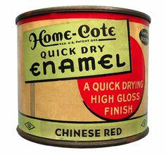Vintage Packaging: PaintSupplies - The Dieline -