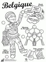 Printer Projects Jewelry The World Pictures Heavens Teaching Geography, World Geography, Colouring Pages, Coloring Books, Blake Et Mortimer, Little Passports, World Thinking Day, Les Continents, Kids Around The World