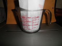 Anchor Hocking USA 2 Cup Glass Handled Measuring Cup