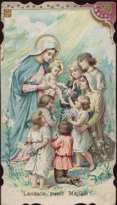 Holy Cards for Children: Blessed Mother                                                                                                                                                                                 More