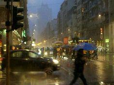 Milano, corso Buenos Aires, winter