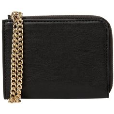 Chain Coin Purse (£9.99) ❤ liked on Polyvore