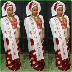 Brown Nollywoodglamour yourglampage naija hausa | Iya Eko - Trending African Fashion