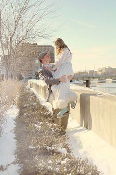 Icy Blue Winter Wedding Ideas