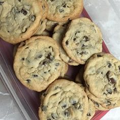 "T.T.'s Cookies | ""These are so good. I made them exactly as the recipe said and they are getting GOBBLED up at my office. """