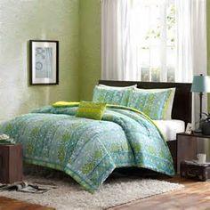 blue orange comforter - Bing images
