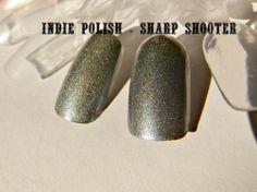 Holographic Nail Polish  Sharp Shooter   large by IndiePolish, $9.75