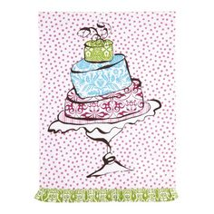 I pinned this Cake Kitchen Towel - Set of 2 from the Sweet Tooth event at Joss and Main!