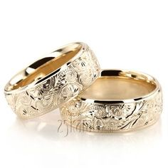Wedding Band Sets, His and Hers Wedding Bands, Matching Wedding Rings, Wedding Ring sets Wedding Ring Images, Unique Wedding Bands, Wedding Band Sets, Diamond Wedding Rings, Wedding Jewelry, Stacked Wedding Rings, Matching Wedding Rings, Bling Bling, Alternative Wedding Rings