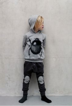 Soft Gallery boys beetle hoodie and patch pants for winter 2011