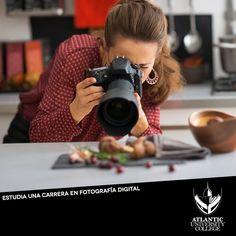 Haz de la fotografía una profesión lucrativa para ti, en Atlantic University College tenemos un Bachillerato en Diseño Gráfico Digital con Concentración en Fotografía Digital que es perfecto para aquellos que quieren lograr ser #1 en la industria fotográfica. Para más información comunícate al 787-720-1022 o escríbenos un email a: admisiones@atlanticu.edu ¡Matricúlate hoy mismo! #SéUnGladiador