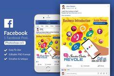 Social Media Facebook Post Banner by Design Up on @creativemarket