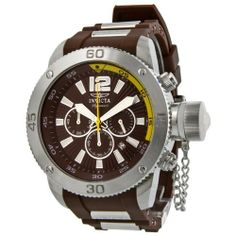 Invicta Signature II Russian Diver Brown Dial Chronograph Mens Watch 7426 Invicta. $111.00. Save 86%!