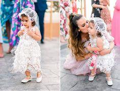 Παραμυθένια κοριτσίστικη βάπτιση με θέμα floral blossom - EverAfter Girls Dresses, Flower Girl Dresses, Fairy Tales, Girly, Wedding Dresses, Floral, Flowers, Fashion, Dresses Of Girls