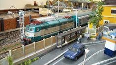 """095_plastico ferroviario """"la stazione di Castel Maria"""""""