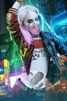 La primera imagen de #HarleyQuinn @MargotRobbie de la pelicula de #DCComics #SuicideSquad. Me encanta ¿y a ustedes?