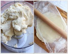 1 minute homemade pie crust with a food processor via The Italian Dish Blog. For future reference.