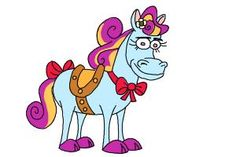 How to draw Twinkle The Marvel Horse