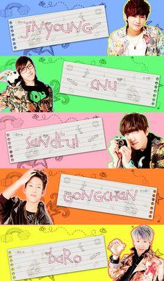 B1A4 teehee! <3