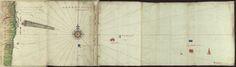"""Cod. 1333 - 25621_26 - Gaspar Ferreira Reimão (fl. 1612) - """"Roteiro da carreira da India co[m] seus caminhos e derrotas signais e auguages e diferenças dâgulha tirado dos q[ue] escreveo Viçente Roiz e Diogo A.º, pillotos antigos hora nouamente acrecentado à viage[m] de Goa por dentro de S. Lc.º, e Miçambique, e outras cousas e aduertençias"""". [1612?]. COD. 1333"""