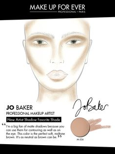 MAKE UP FOR EVER 30 Years. 30 Colors. 30 Artists. Jo Baker's favorite shade M-536.