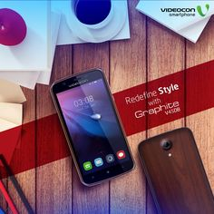 The elegant teak wood back finish adds beauty to ‪#‎Videocon‬ Graphite V45DB smartphone. To explore visit - http://www.videoconmobiles.com/graphitev45db