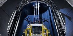 The Webb, with its 21-foot mirror, will be 100 times more powerful than the Hubble Space Telescope, able to capture images of very dim, very old light.