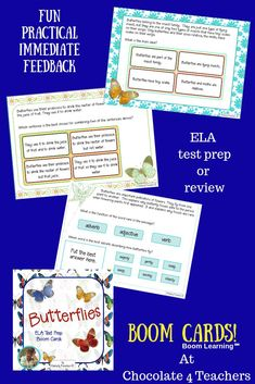 40 Best Free Boom Cards! Upper Elementary teaching resources images
