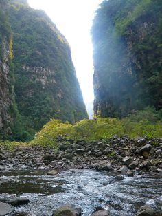 Trilha do Rio do Boi – Cânion Itaimbezinho - Parque Nacional de Aparados da Serra @ Santa Catarina, Brazil