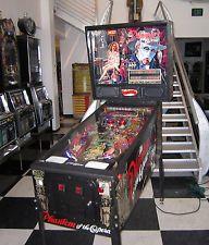 PHANTOM OF THE OPERA PINBALL MACHINE ~ RARE GAME ~ SHOPPED ~ $199 SHIPPING