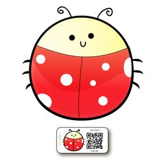 Help your lost stuff fly home with our ladybird stickers