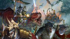 ArtStation - Total War: Warhammer 2-Lizardmen, Diego Gisbert Llorens