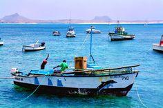 Fishermen, Sal Rei, Cape Verde