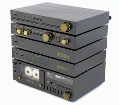 Technics ST-C01K, FM/AM Tuner Technics SU-C01K, DC Preamplifier Technics SE-C01K, DC Power Amplifier Technics SH-C01K, Power Supply Unit Technics RS-M02, Cassette Deck with direct drive