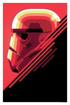 """The Stormtrooper"" Prints here: http://www.darkinkart.com/star-wars/the-stormtrooper-craig-drake.html"