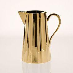 brass jug from zara home