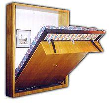 Cama abatible hacer bricolaje es cosas para comprar pinterest - Hacer una cama abatible ...