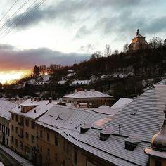 Rano v Stiavnici.  #banskastiavnica #stiavnica