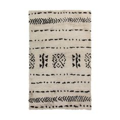 Hand woven in India from 100 percent wool, this ultra-plush rug makes a great addition to any mod... http://dotandbo.com/collections/farm-fresh-living-in-marin?utm_source=pinterest&utm_medium=organic&db_sku=SRY0164