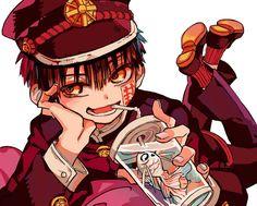 Anime: Toilet-bound Hanako-Kun — Manga Anime, Comic Anime, I Love Anime, Me Me Me Anime, Anime Guys, Loli Kawaii, Anime Kawaii, Toilet Boys, Hanako San