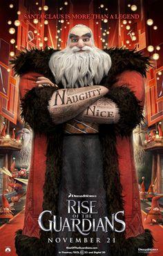 'Rise of the Guardians' - Santa Claus